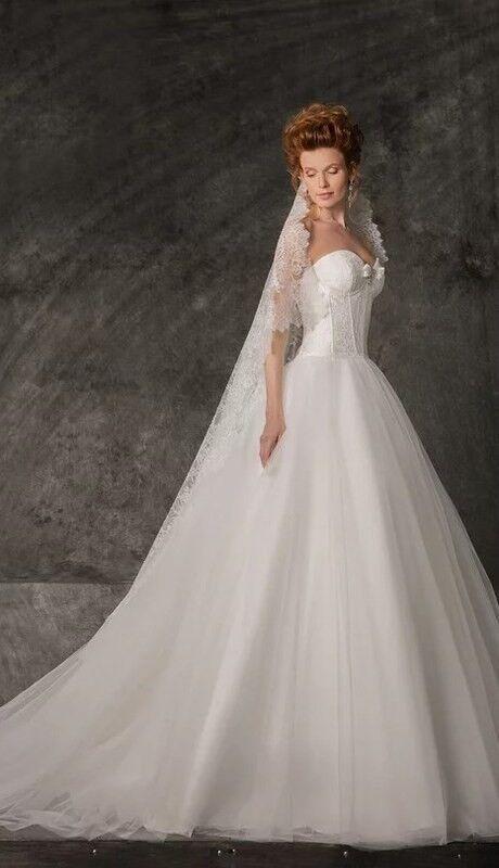 Свадебное платье напрокат Edelweis Платье свадебное «Nicole» - фото 1