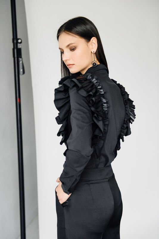 Кофта, блузка, футболка женская Burvin Блузка женская 5955 - фото 2