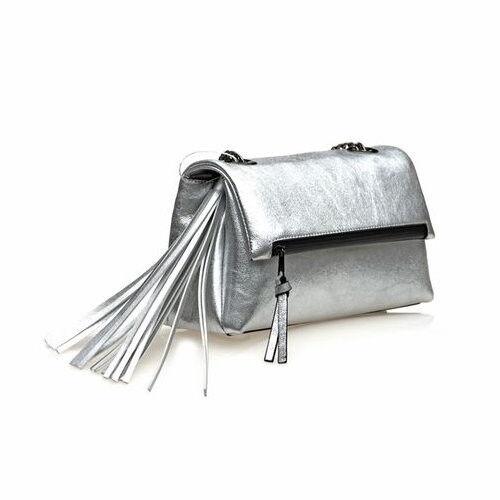 Магазин сумок BASCONI Сумка женская Q8015 Silver - фото 1