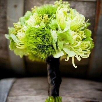 Магазин цветов Ветка сакуры Свадебный букет № 83 - фото 1