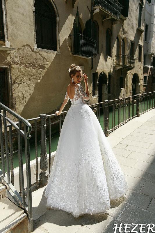Свадебный салон Bonjour Galerie Свадебное платье Hezer из коллекции La Douceur - фото 2