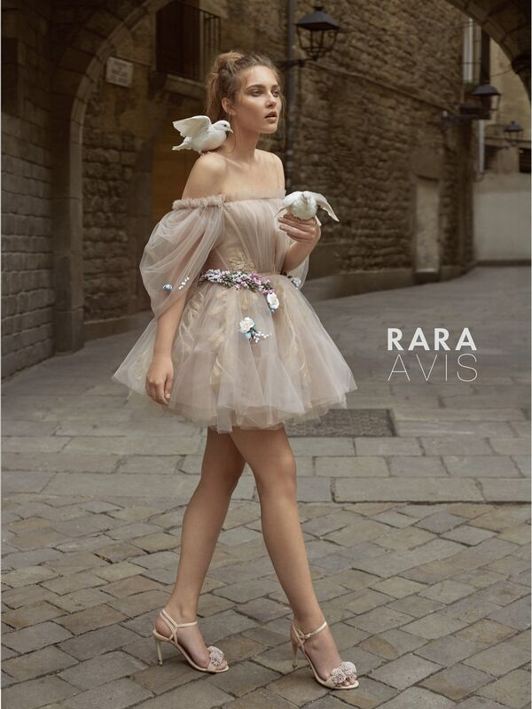 Свадебное платье напрокат Rara Avis Платье свадебное Floral Paradise  Levi - фото 1