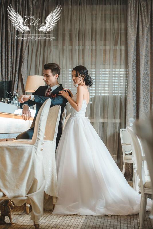 Свадебный салон ALIZA Платье свадебное «Samanta» Ameli Benya - фото 2