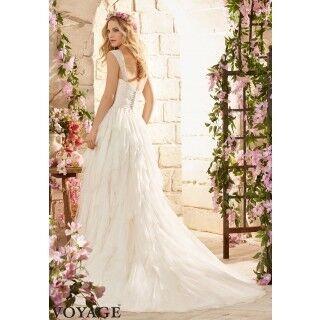 Свадебное платье напрокат Mori Lee Платье свадебное 6808 - фото 2