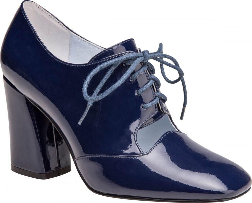 Обувь женская Ekonika Туфли женские 1217-03 blue - фото 1