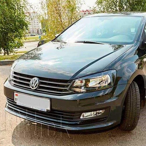 Прокат авто Volkswagen Polo Sedan 2018 г. - фото 1