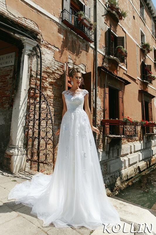 Свадебный салон Bonjour Galerie Свадебное платье Kollin из коллекции La Douceur - фото 1
