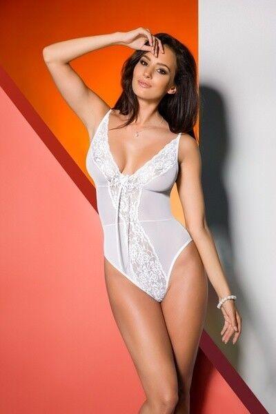 Интим-магазин Avanua Элегантное белое боди Jovita S/M арт. 5901720000000 - фото 1