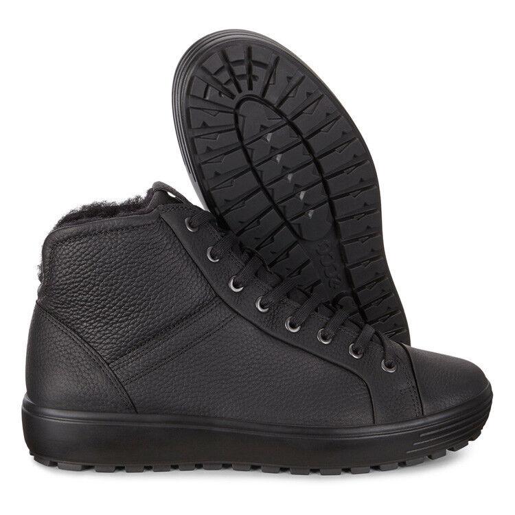 Обувь мужская ECCO Кеды высокие SOFT 7 TRED 450214/01001 - фото 8