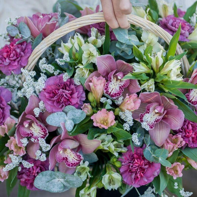 """Магазин цветов Долина цветов Букет  """"Мамина улыбка"""" - фото 1"""