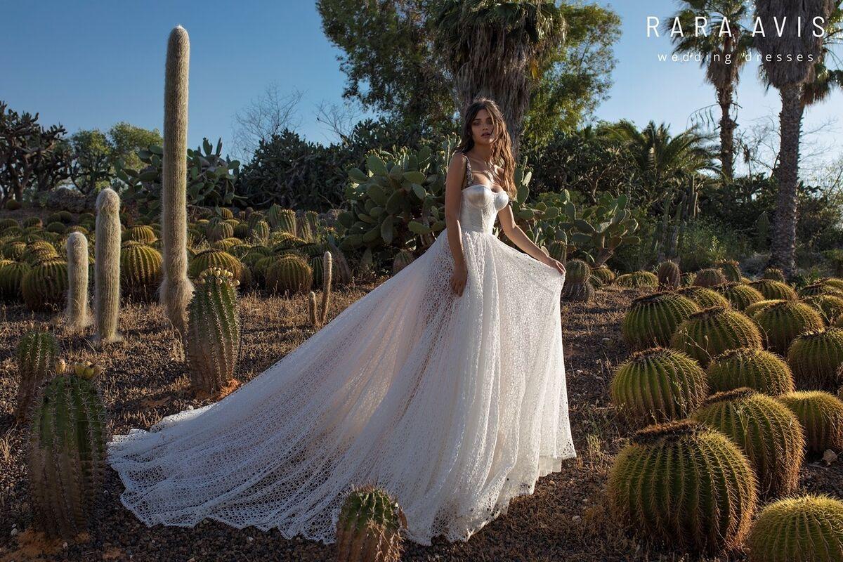 Свадебное платье напрокат Rara Avis Свадебное платье Wild Soul Aviv - фото 3