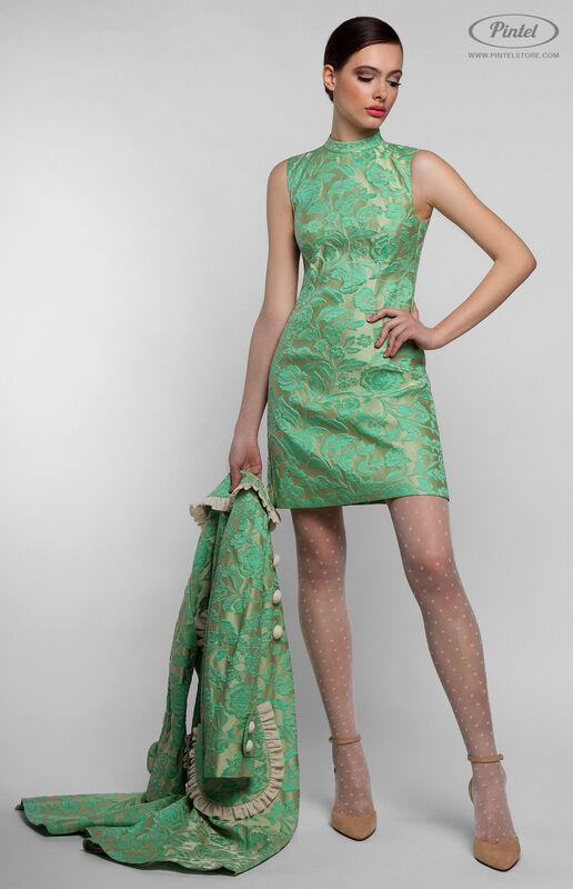 Костюм женский Pintel™ Комплект из плотного жаккарда Sharmin - фото 4