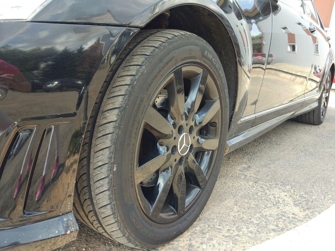 Аренда авто Mercedes-Benz S-класс W221 Черный - фото 6