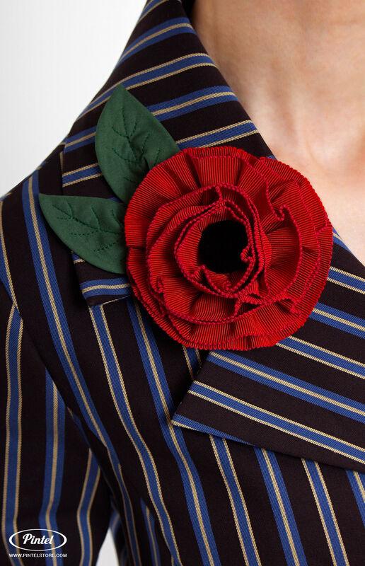 Костюм женский Pintel™ Двубортный брючный костюм Geeah - фото 5