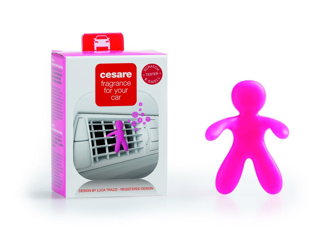 Подарок на Новый год Mr & Mrs Fragrance Ароматизатор воздуха для автомобиля Cesare - фото 5