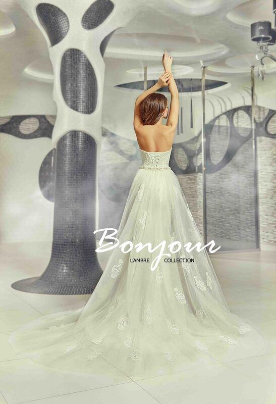 Свадебное платье напрокат Bonjour Платье свадебное «Olivia» из коллекции LAMBRE 2017 - фото 2