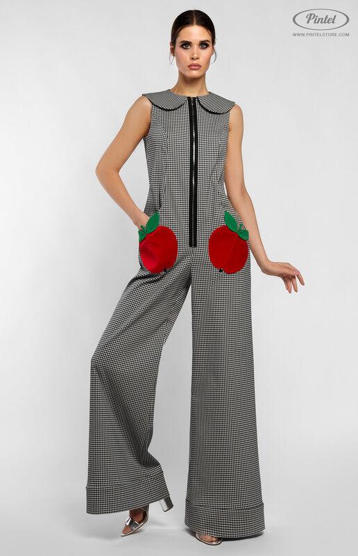 Брюки женские Pintel™ Комбинезон без рукавов из эластичного хлопка HELI - фото 3