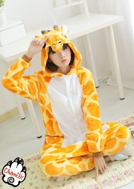 Подарок Taicang Soft Пижама кигуруми «Жираф» - фото 5