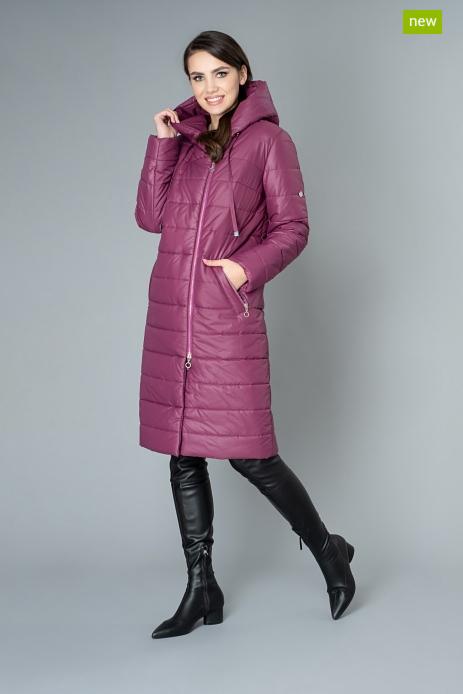 Верхняя одежда женская Elema Пальто женское плащевое утепленное 5-8806-1 - фото 1