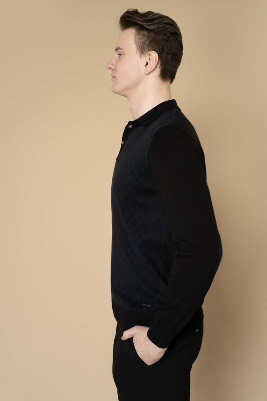Кофта, рубашка, футболка мужская Etelier Джемпер мужской  tony montana 211391 - фото 5