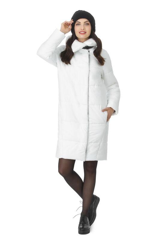 Верхняя одежда женская Elema Пальто женское плащевое утепленное Т-7403 - фото 1