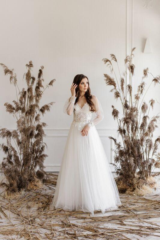Свадебный салон ALIZA свадебное платье Nikka - фото 4