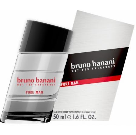 Парфюмерия Bruno Banani Pure Man туалетная вода - фото 1