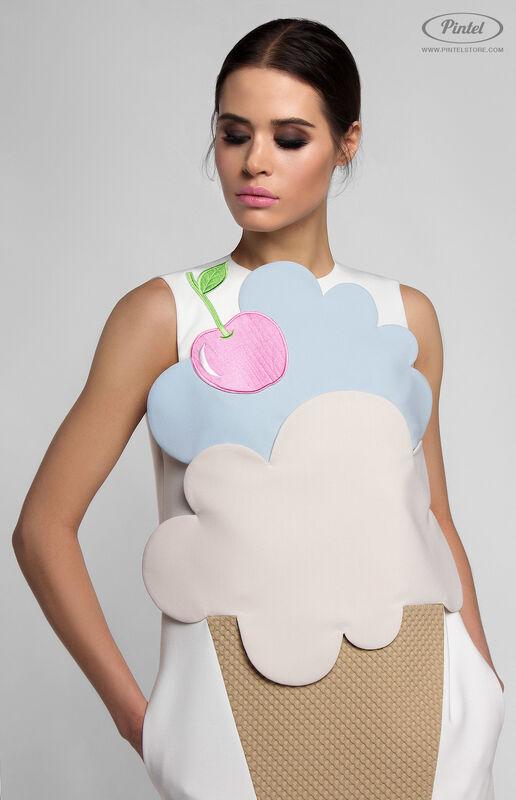 Платье женское Pintel™ Комбинированное платье Rikke - фото 4