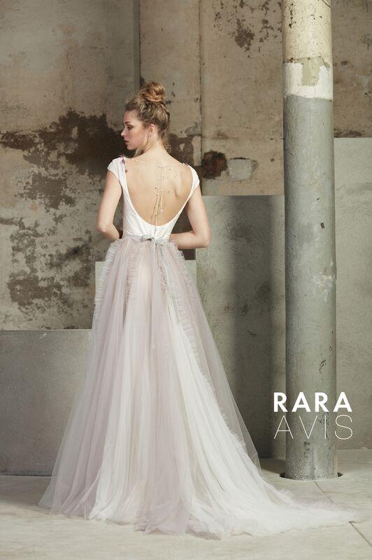 Свадебный салон Rara Avis Свадебное платье Floral Paradise  Molin - фото 2