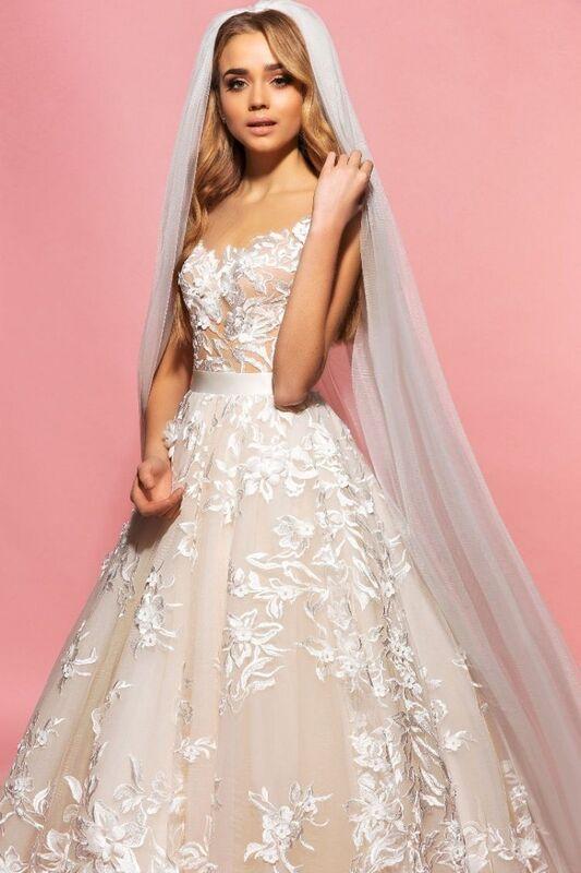Свадебный салон Eva Lendel Свадебное платье Sandy - фото 2