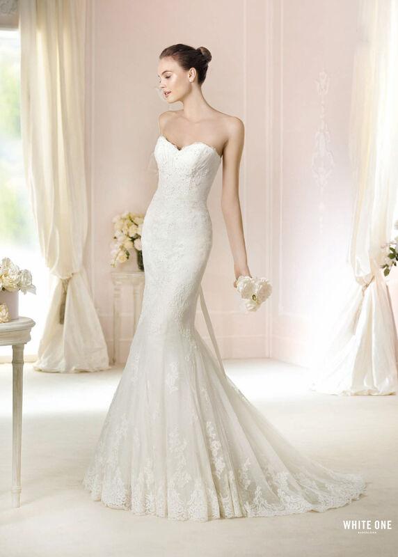Свадебное платье напрокат White One (Pronovias) Платье свадебное «Jackie» - фото 1