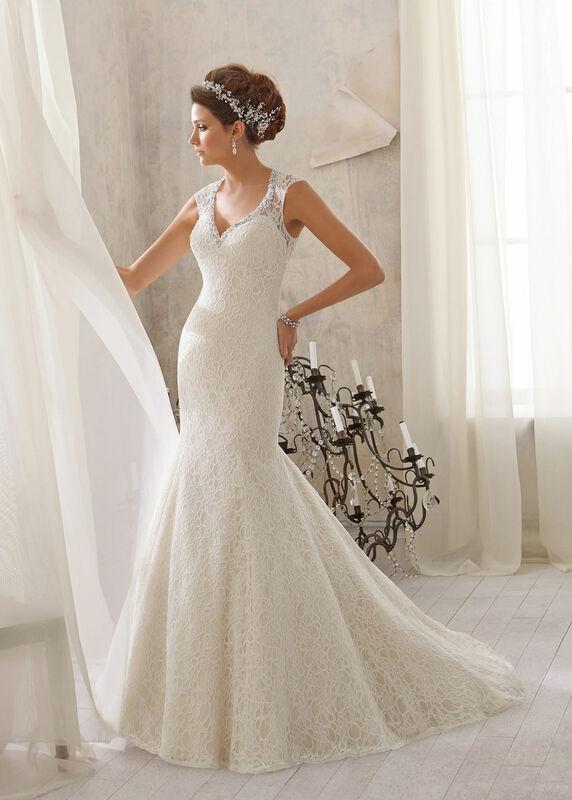 Свадебное платье напрокат Mori Lee Платье свадебное 5214 - фото 1