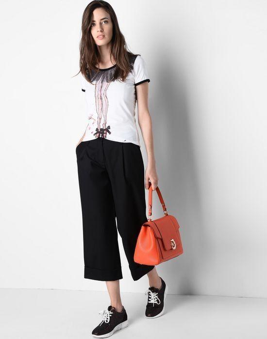 Кофта, блузка, футболка женская Trussardi Футболка женская 56T58 _5156T5 - фото 5