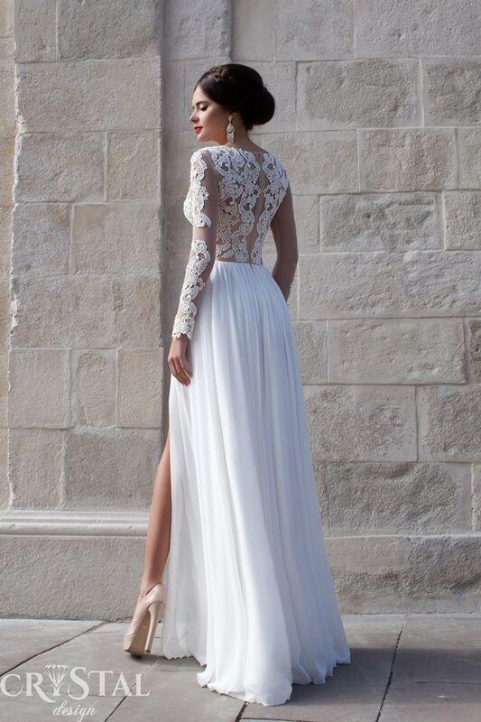 Свадебное платье напрокат Crystal Свадебное платье  Bristol - фото 2