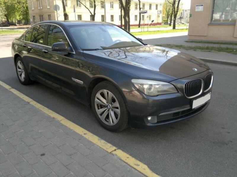 Прокат авто BMW F01 черный - фото 1