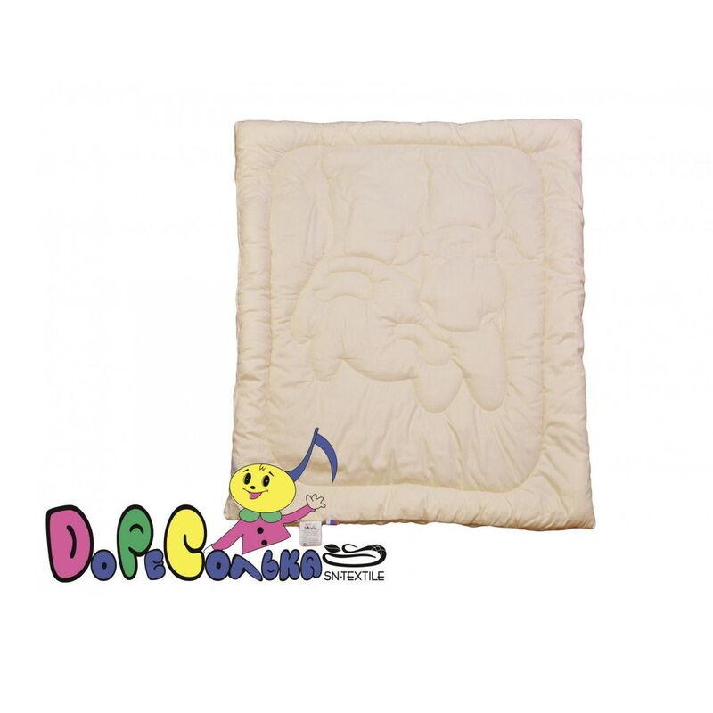 Подарок СН-Текстиль Одеялко всесезонное «Ласковый телёнок» 110х140 арт. ОСП-О-10 - фото 1