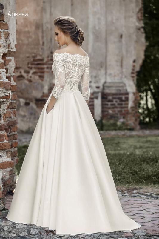 Свадебное платье напрокат Vintage Платье свадебное «Арианна» - фото 4