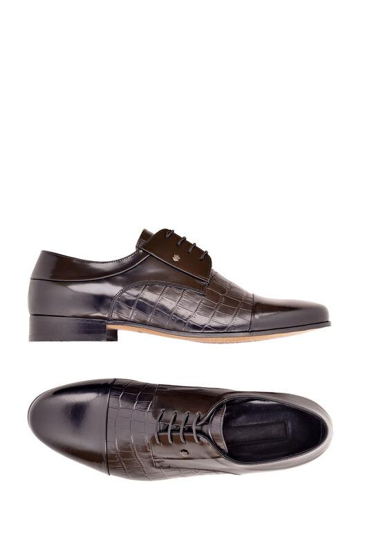 Обувь мужская HISTORIA Туфли дерби черные глянец Sh.B.73127 - фото 3