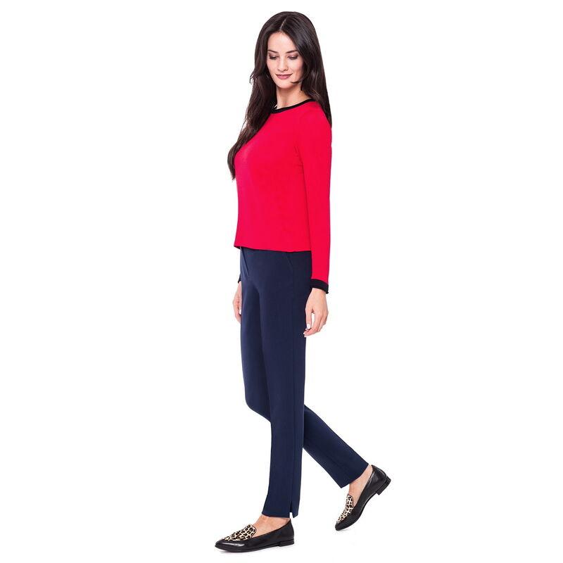 Кофта, блузка, футболка женская L'AF Блузка Claret D26I (красная) - фото 1