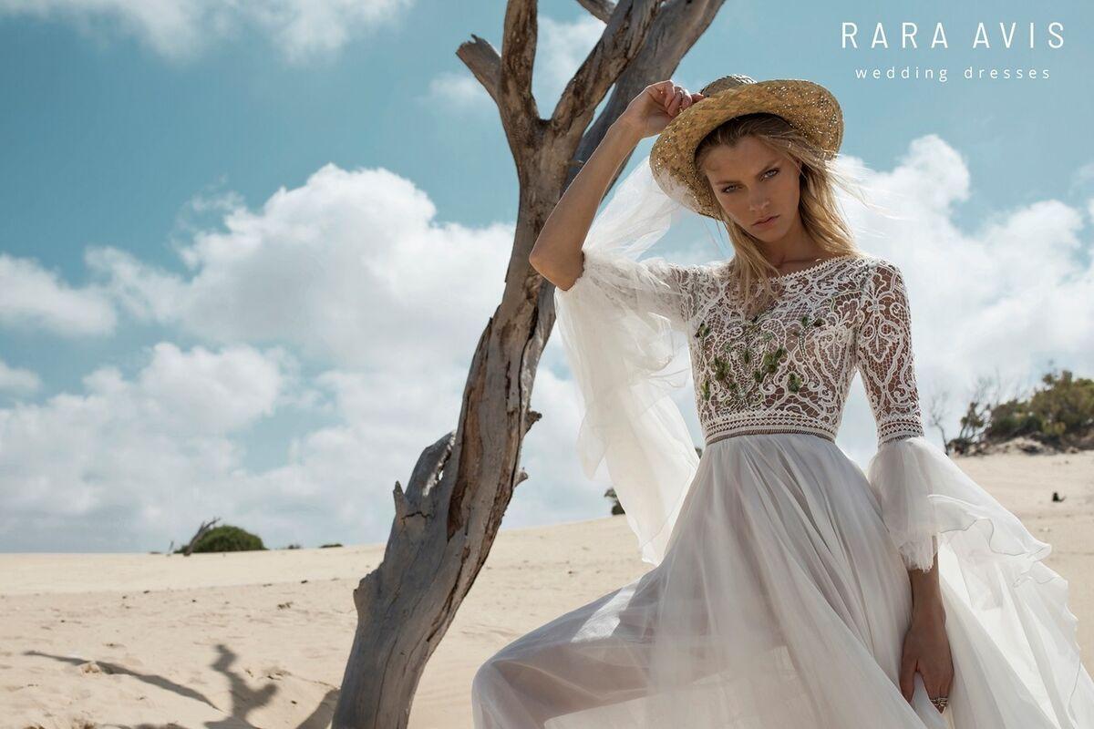 Свадебное платье напрокат Rara Avis Платье свадебное Wild Soul Rebeka - фото 2