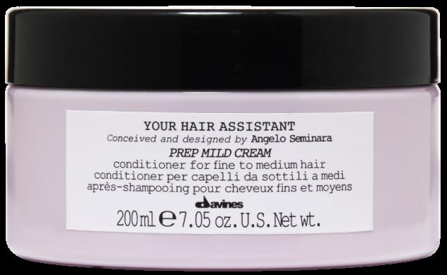 Уход за волосами Davines Мягкий кондиционер для подготовки волос к укладке Your Hair Assistant Prep Mild Cream - фото 1