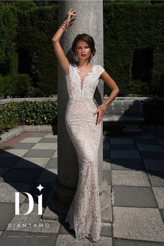 Свадебное платье напрокат Diantamo Платье свадебное Federica - фото 1