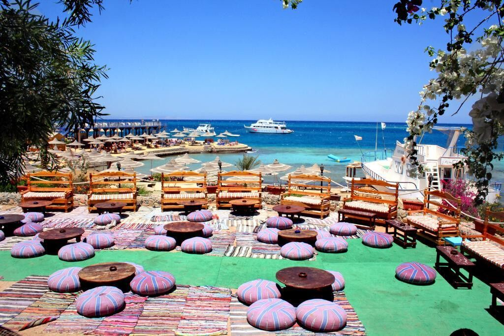 Туристическое агентство Кросс тур Пляжный авиатур в Египет, Хургада, King Tut Aqua Park Beach Resort 4* - фото 2