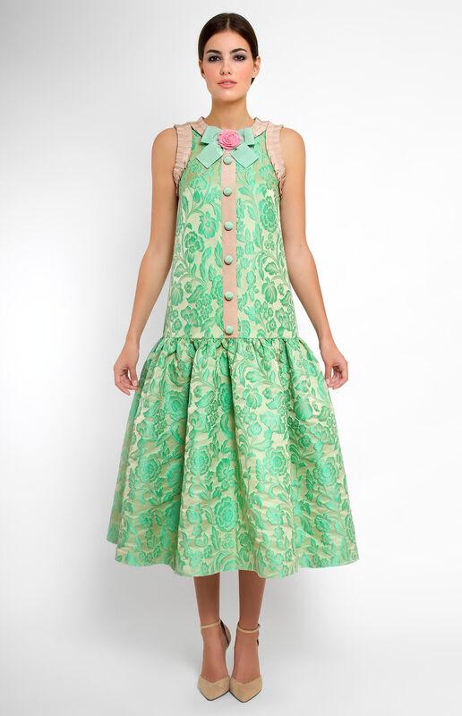 Платье женское Pintel™ Платье из плотного жаккарда Durciané - фото 1