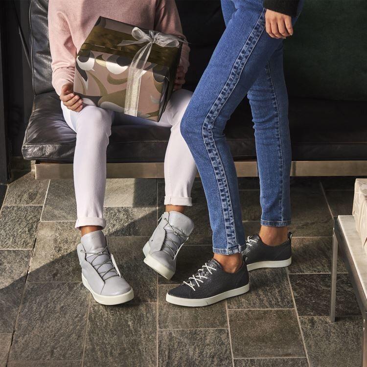 Обувь детская ECCO Кеды высокие S8 781103/01379 - фото 13