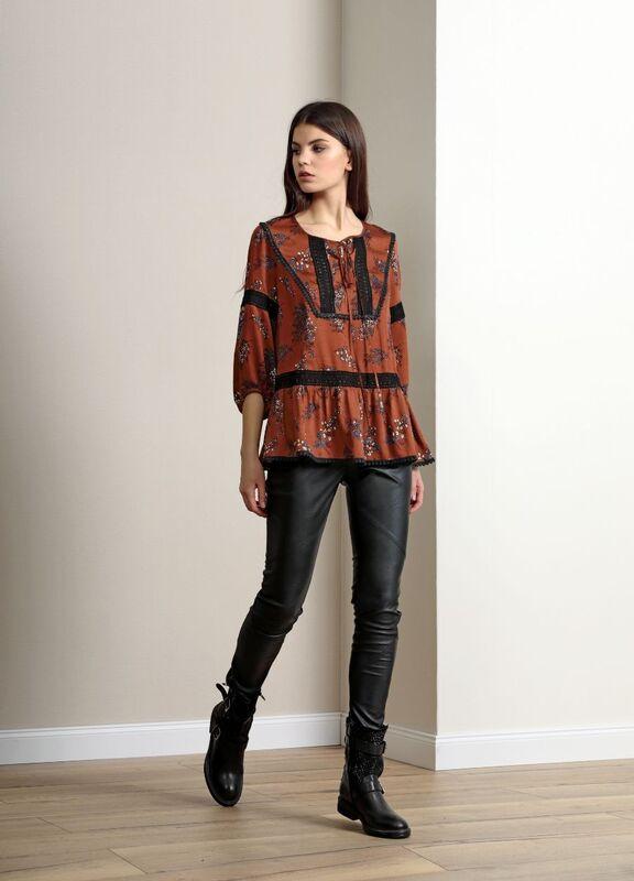 Кофта, блузка, футболка женская Burvin Блузка женская 5786 - фото 1