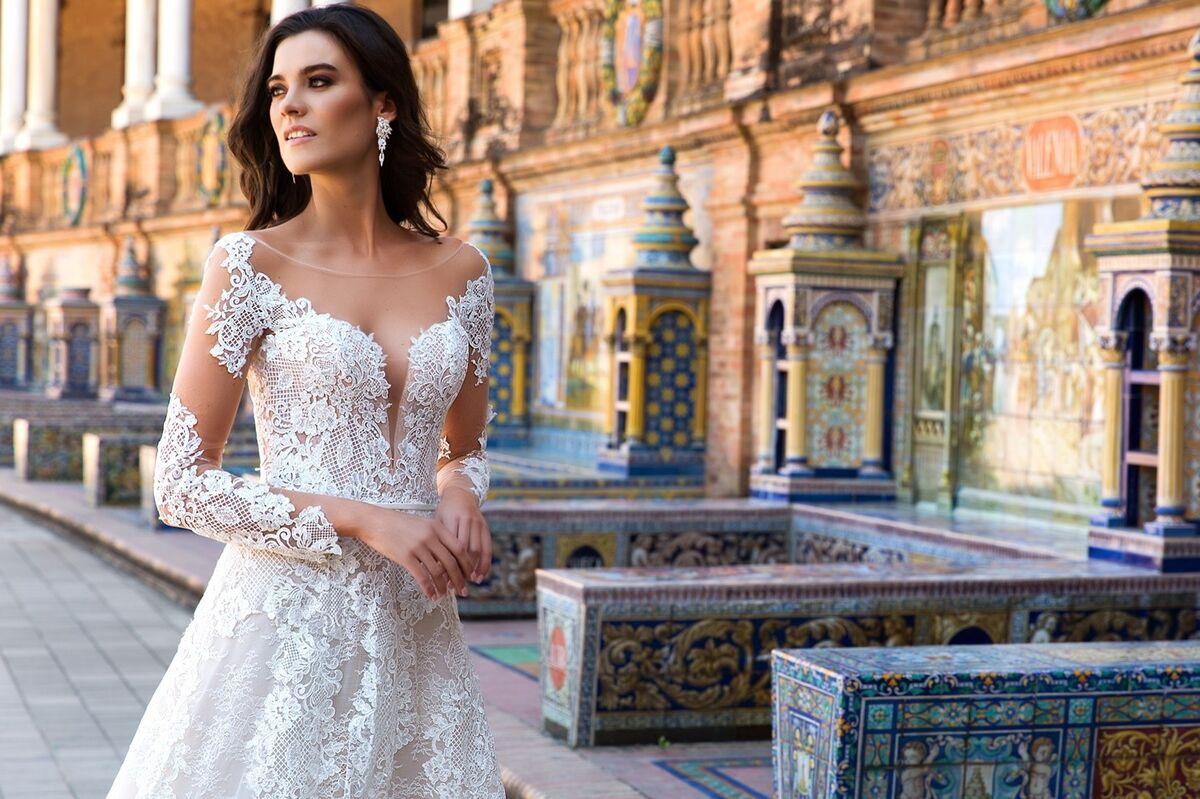 Свадебный салон Crystal Платье свадебное Marlen - фото 3