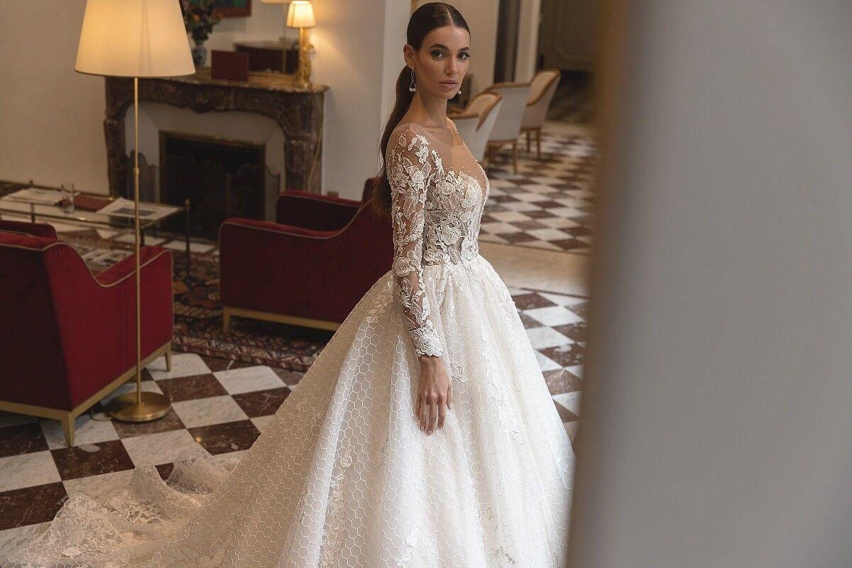 """Свадебное платье напрокат ALIZA свадебное платье """"Jullietty"""" - фото 2"""