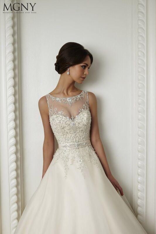Свадебный салон Madeline Gardner New York Свадебное платье Coco 51022 - фото 3