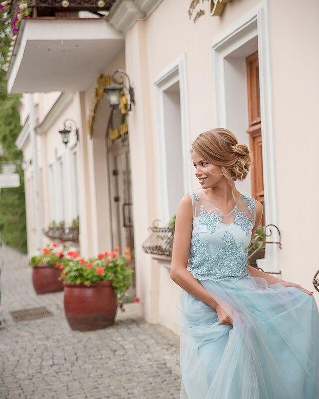 Вечернее платье Shkafpodrugi Роскошное платье - фото 2